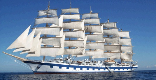 a voyage on the largest sailing ship in the world